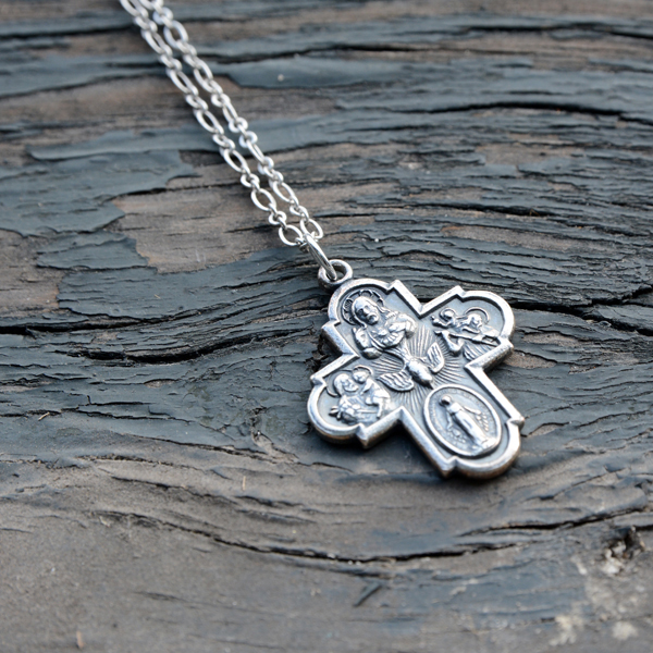 Pendant-Four-Way Cross Medal